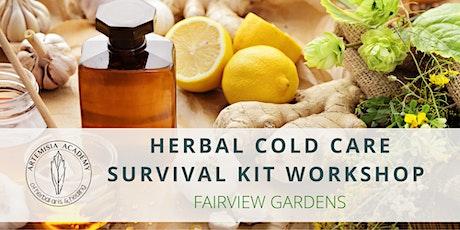 Herbal Cold Care Survival Kit Workshop tickets