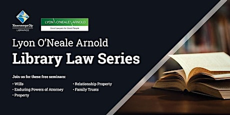 Lyon O'Neale Arnold Library Law Series - Property tickets