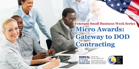 Micro Awards: Gateway to Department of Defense Contracting tickets