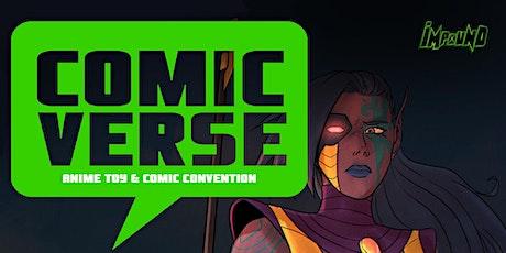 Comicverse Sacramento - Comic Convention (Impound Comics) tickets