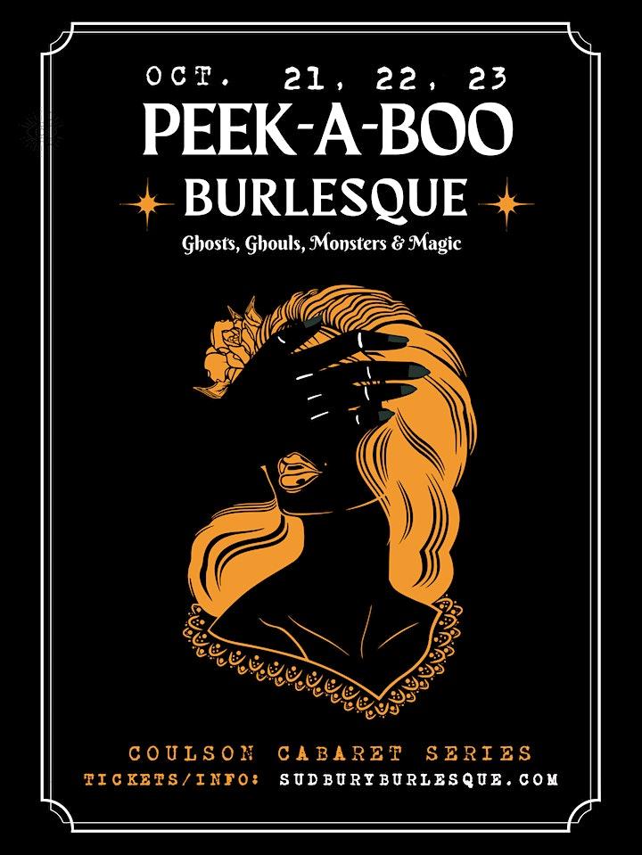 Sudbury Burlesque: PEEK-A-BOO BURLESQUE image