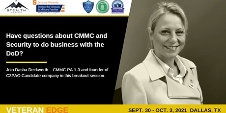 Cybersecurity Effects of CMMC on Small Business (Government contracting) tickets