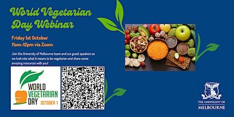 World Vegetarian Day Webinar tickets