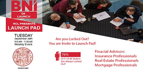 BNI's Famous Launch Pad tickets