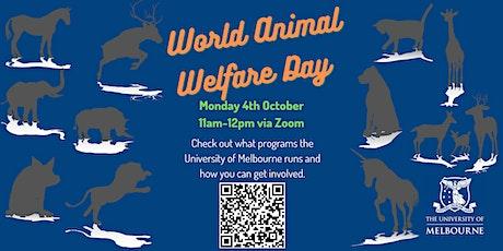 World Animal Welfare Day Webinar tickets