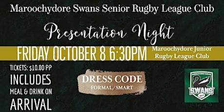Swannies Presentation Night tickets