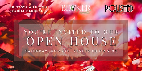 Becker Cosmetic Open House tickets
