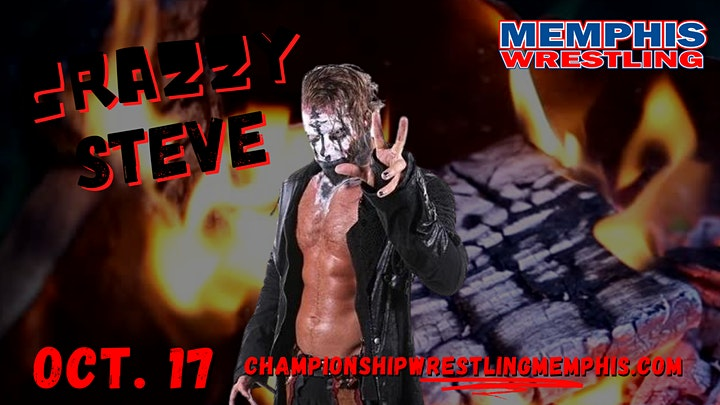 The Boogeyman + Crazzy Steve - Memphis Wrestling TV Taping image
