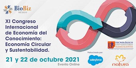 XI Congreso Internacional de Economía Circular y Sustentabilidad boletos
