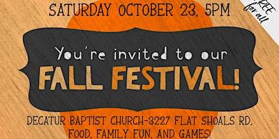 Decatur Family Fall Festival