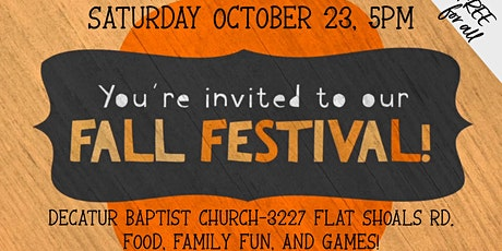 Decatur Family Fall Festival tickets
