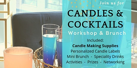 MAGIC Candles & Cocktails Workshop & Brunch tickets