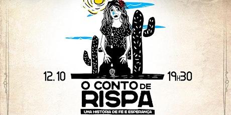 "Jeova Nissi ""O conto de Rispa"" ingressos"