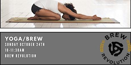 Yoga/Brew tickets