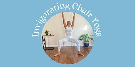 Invigorating Chair Yoga tickets