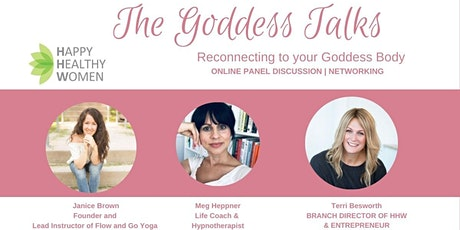 The Goddess Talks - Reconnecting with your Goddess Body tickets