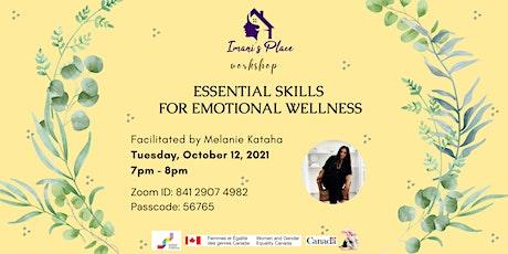 Workshop on Essential Skills for Emotional Wellness tickets