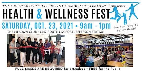 Port Jefferson Health & Wellness Fest tickets