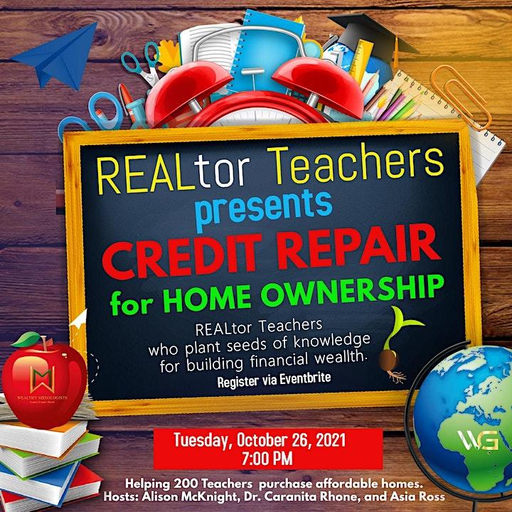 Credit Repair for Homeownership image