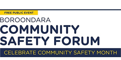 Community Safety Forum: Keep Your Home Safe tickets
