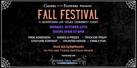 Downtown Las Vegas Fall Festival tickets