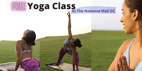 FREE YOGA at he National Mall DC tickets
