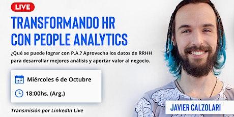 Transformando HR con People Analytics tickets