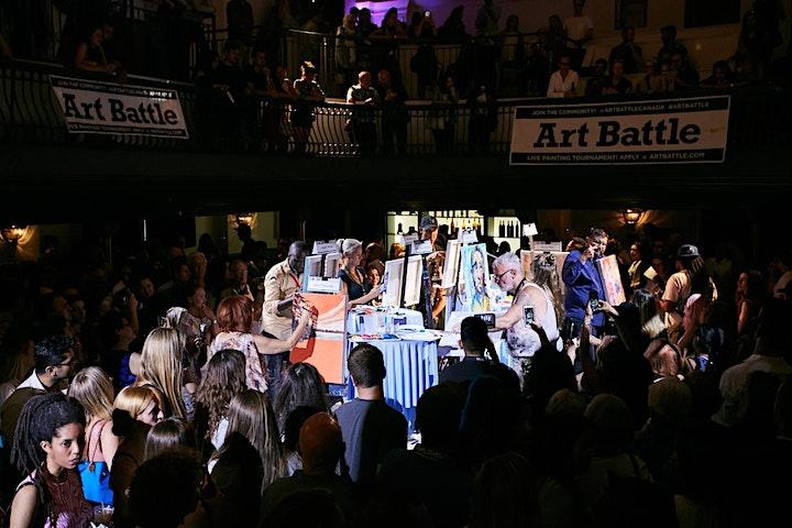 Art Battle Toronto - October 26, 2021 image