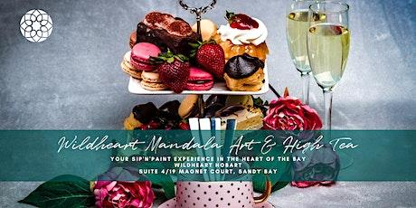 Mandala Art & High Tea - Sip'n'Paint Experience tickets