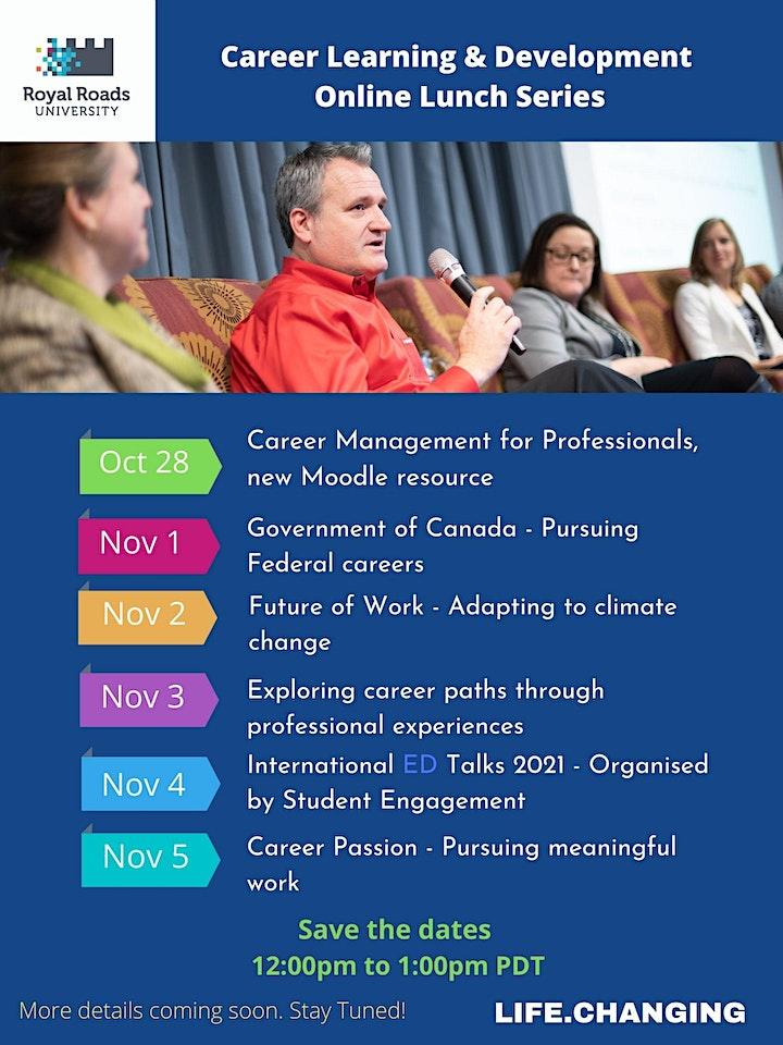 Exploring career paths through professional experiences image