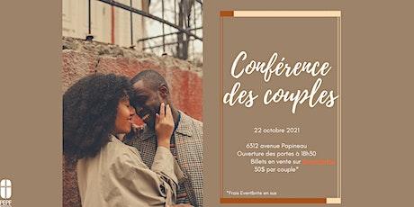 Conférence des couples tickets