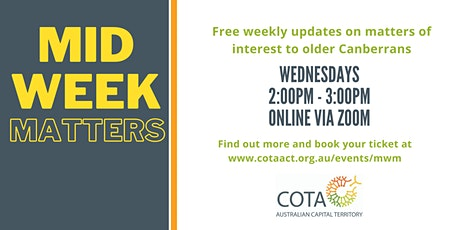 Midweek Matters - Advance Care Planning tickets