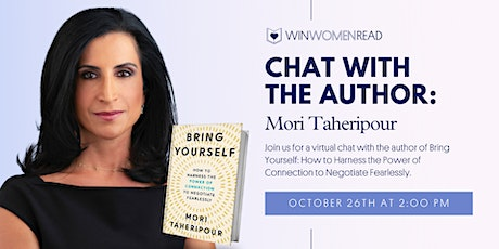 A Chat with the Author: Mori Taheripour tickets