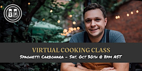 Seasoned Plate - Virtual Cooking Class - October 2021 tickets