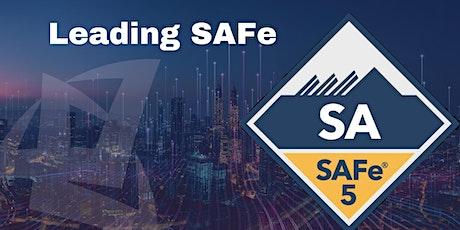 Leading SAFe 5.0 Certification 2 Days Online Training billets