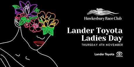Lander Toyota Ladies Day 2021 tickets
