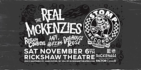 The Real McKenzies with Raygun Cowboys, Anti Queens and Doghouse Rose tickets