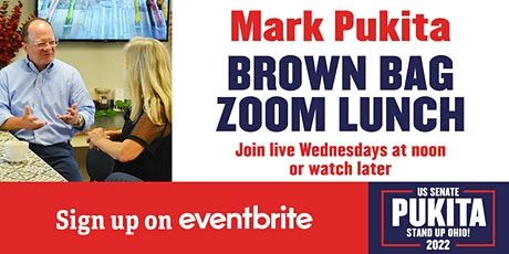 Lunch Meet and Greet with Mark Pukita, Candidate for US Senate tickets