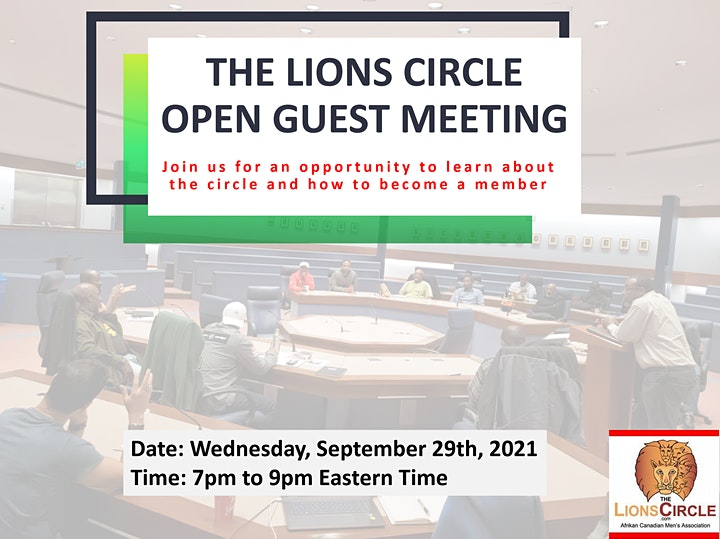 Lions Circle Open Guest Meeting image