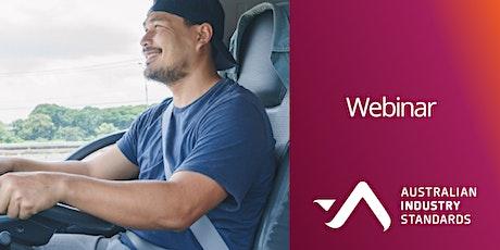 Heavy Vehicle Driver Apprenticeship webinar tickets