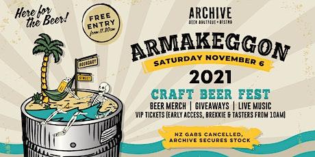Armakeggon 2021 // VIP Tickets tickets