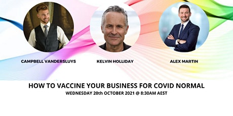 How to Vaccinate Your Business for Covid Normal tickets