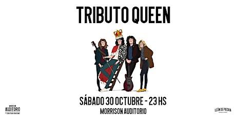 Tributo Queen - Efecto Mercury entradas