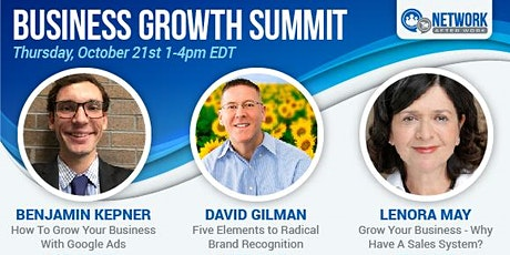 Business Growth Virtual Summit tickets