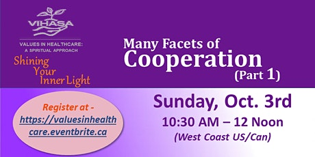 """Many Facets of Cooperation - Part 1"""" tickets"""
