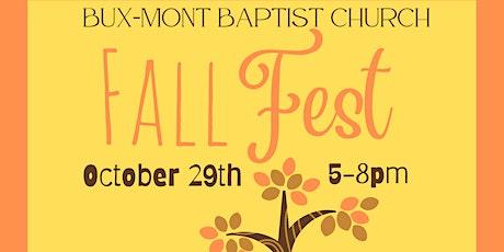 Bux-Mont Baptist Fall Fest 2021 tickets