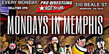 "Pro Wrestling Mid South presents Aubrey ""Boom Boom"" Ombre's Birthday Bash tickets"