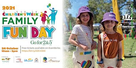 Go for 2 & 5 Children's Week Family Fun Day at Whiteman Park tickets