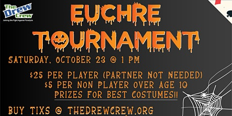 Euchre Tournament Presented by The Drew Crew tickets