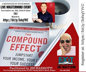 MASTERMIND 'The Compound Effect' 4-Week Event On ZOOM tickets
